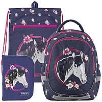 Рюкзак в комплекте 3 в 1 Beautiful horse KITE K19-700M-1+601M-11+622-9