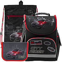 Рюкзак в комплекте 3 в 1 City rider KITE K19-501S-6+601M-2+622-2