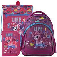 Рюкзак в комплекте 3 в 1 My Little Pony KITE LP19-521S+601M-1+622-2