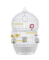 Белая клетка Ferplast  BALI - для попугаев, канареек, екзотических птиц (d43,5 x 68,5 cm)