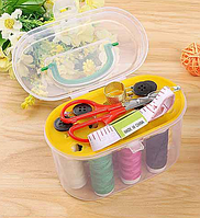 Швейный набор в коробке для дома и путешествий
