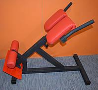 Гиперэкстензия тренажер регулируемый MALCHENKO римский стул, профессиональная серия до 200 кг.