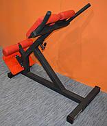 Гиперэкстензия тренажер регулируемый MALCHENKO римский стул, профессиональная серия до 200 кг., фото 2