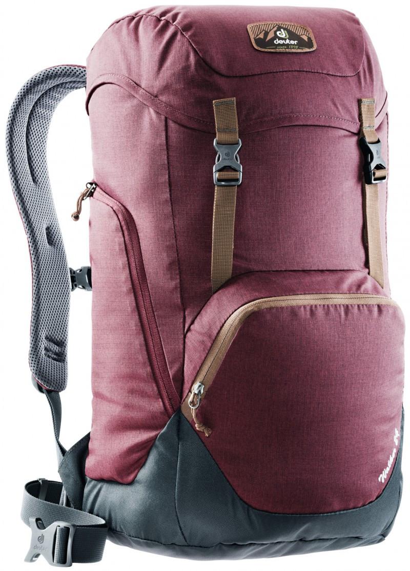 Купить Туристический рюкзак DEUTER WALKER 24 3810717 5424, 24л, бордовый