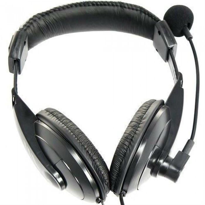 Дротові навушники для комп'ютера Pisc 750 з мікрофоном