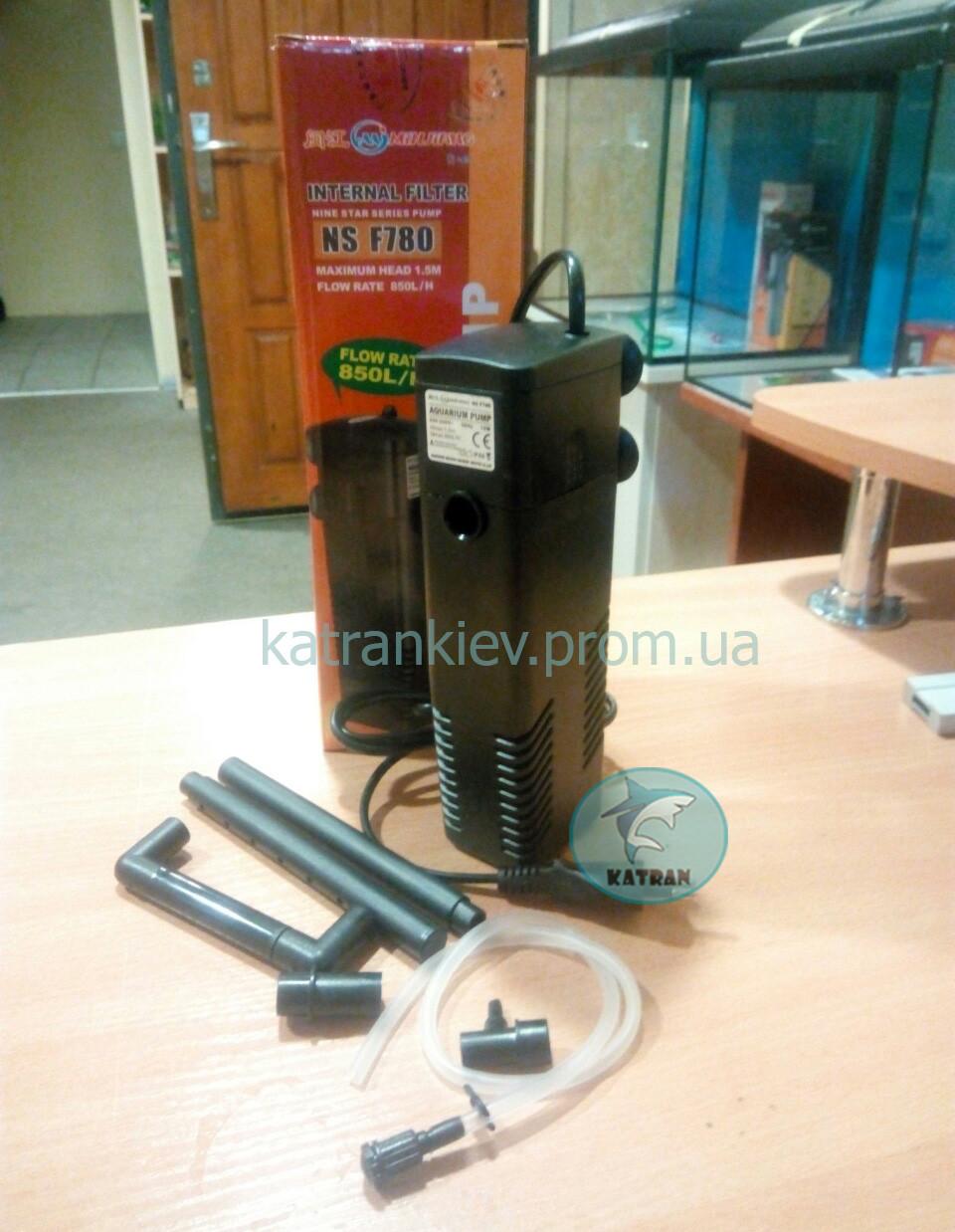 Внутренний фильтр NS f 780  для аквариума до 150 л (850 л/ч) с флейтой