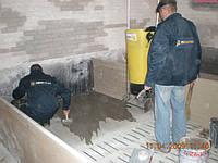 Гидроизоляция бетона проникающей гидроизоляцией Пенетрон