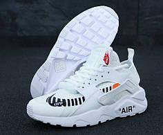 Женские кроссовки Nike Air Huarache Off White