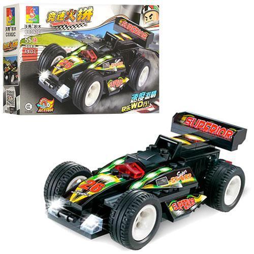 Конструктор C0302C гоночная машина