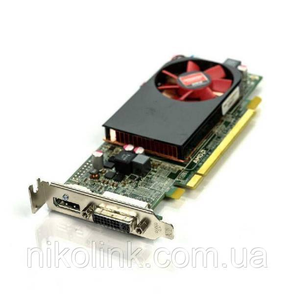 Видеокарта Dell AMD Radeon R7 250 2Gb GDDR3 (128bit)  (DVI/D-Port/актив охл ) комиссионный товар: продажа,