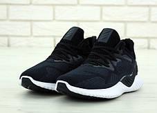 Мужские кроссовки AD Alphabounce Black/White. ТОП Реплика ААА класса., фото 2