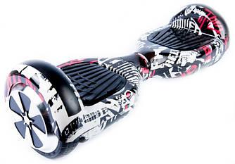 """Гироскутер гироборд Smart Balance Wheel A3 6.5"""" с автобалансом и пультом Bluetooth Pirates Пираты c черепами"""