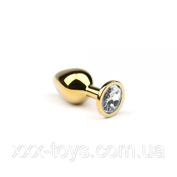 Анальная пробка,Gold Diamond,S