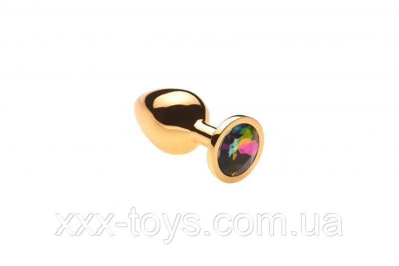 Анальная пробка,Gold Alexandrite,M