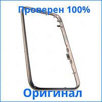 Оригинальная металлическая рамка (обод) корпуса iPhone 3GS серебристая, Оригінальна металева рамка (обід) корпусу iPhone 3GS срібляста