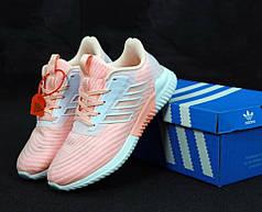 Женские кроссовки Adidas ClimaCool Pink. ТОП Реплика ААА класса.