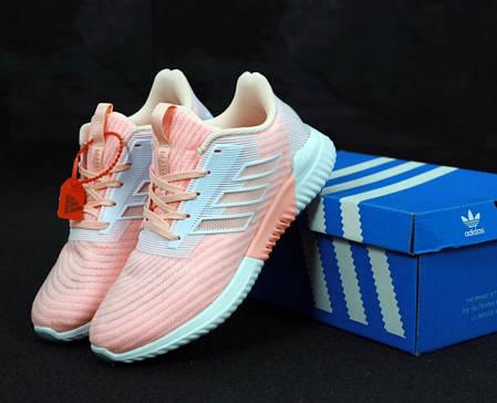 Женские кроссовки AD ClimaCool Pink. ТОП Реплика ААА класса., фото 2