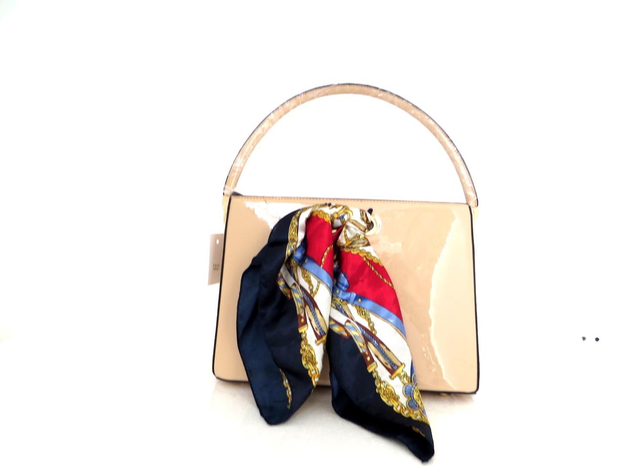 Лаковая летняя женская сумка. Эко-кожа. Италия, фото 1