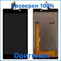 Оригинальный дисплей Nomi i508 Energy черный, FPC-Y85183 V02/TP304590B-FPCA-V2 (LCD экран, тачскрин, стекло в сборе), Оригінальний дисплей Nomi i508