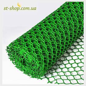 Сетки пластиковые заборные ромб