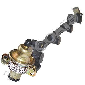 Топливопровод со штуцером и клапан. 406.1104.058-21