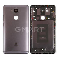 Задняя крышка корпуса Huawei Mate 7 черная, Задня кришка корпусу Huawei Mate 7 чорна