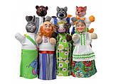 Кукольный театр, куклы-перчатки  Соломенный бычок,  7 персонажей, фото 2