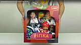 Кукольный театр, куклы-перчатки  Соломенный бычок,  7 персонажей, фото 3