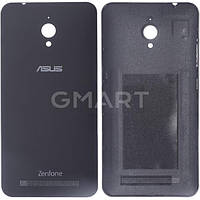 Задняя крышка корпуса Asus ZenFone Go ZC500TG черная, Задня кришка корпусу Asus ZenFone Go ZC500TG чорна