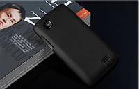 Чехол накладка бампер для Lenovo A369i чёрный