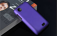Чехол накладка бампер для Lenovo A369i фиолетовый