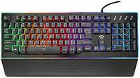 Проводная клавиатура  TRUST GXT 860 THURA SEMI-MECH KEYBOARD RUS (22416)