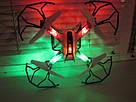 Квадрокоптер DH-X13 с подсветкой 33х33 см, фото 6