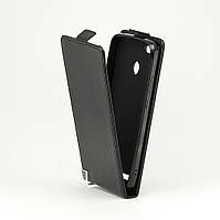Чехол Idewei для Homtom HT50 / HT50 Pro флип вертикальный кожа PU черный