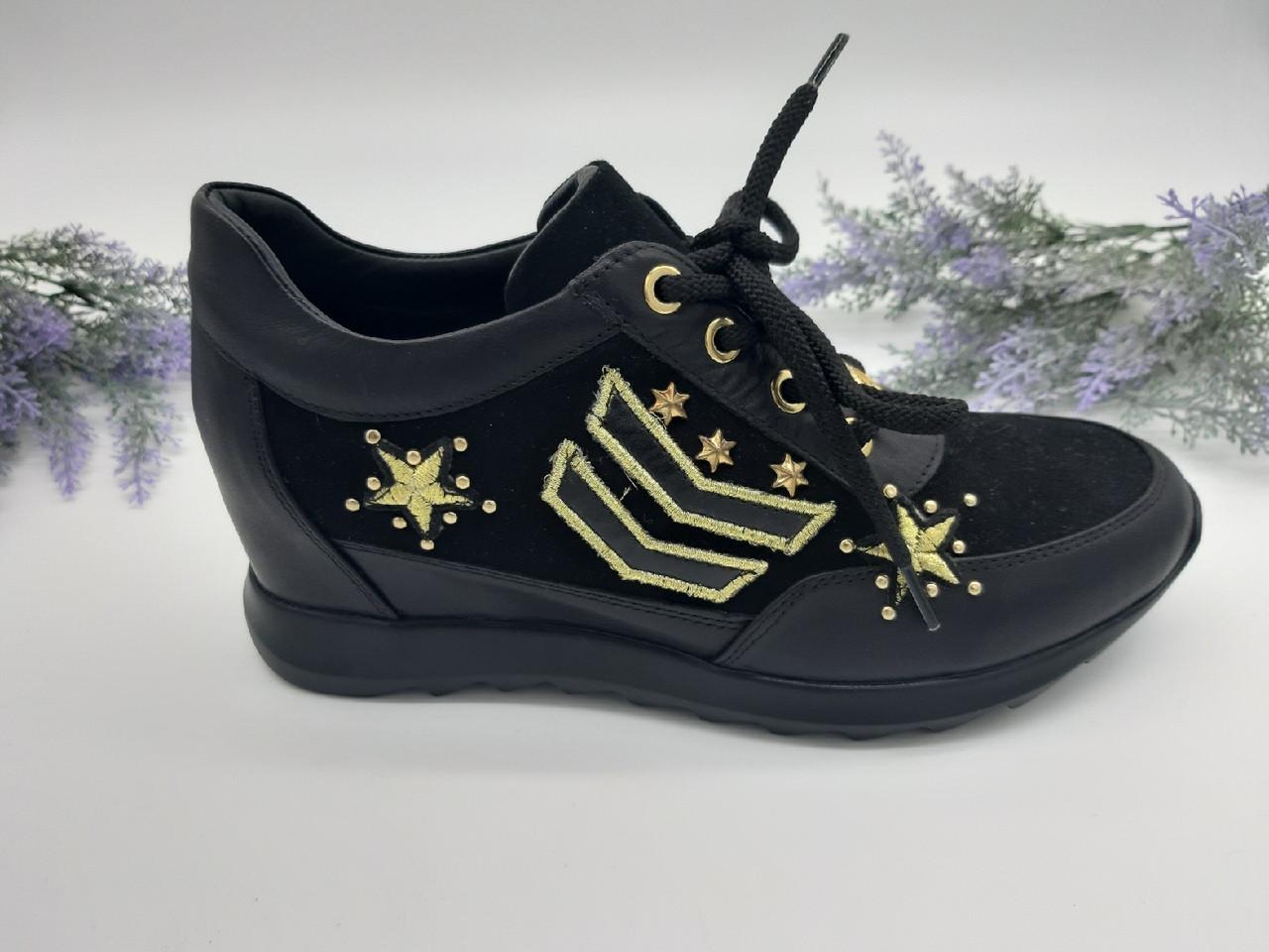 c8ac050e Кроссовки женские ALPINO черный 17-0398 кожа 38(р), цена 1 512 грн ...