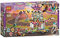 """Конструктор Bela Friends 11040 """"Большая гонка"""" (аналог Lego Friends 41352), 654 дет"""