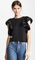 Женская футболка с воланами, фото 1