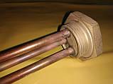 """Тэн медный резьбовой 1.1/4"""" дюйма резьба 4.0 кВт. 220 В. без места под магниевый анод . Производитель Kawai ., фото 4"""