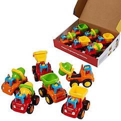 Набор строительных машинок Huile Toys Грузовичок 6 шт. (326CD)