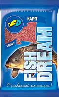 Прикормка FishDream Карп 1кг