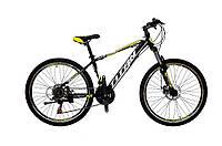 🚲Горный стальной дисковый велосипед TITAN EVOLUTION DD (Shimano, моноблок); рама 15; колеса 26