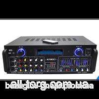 Усилитель мощности звука AV 1800 4 канала 800ват