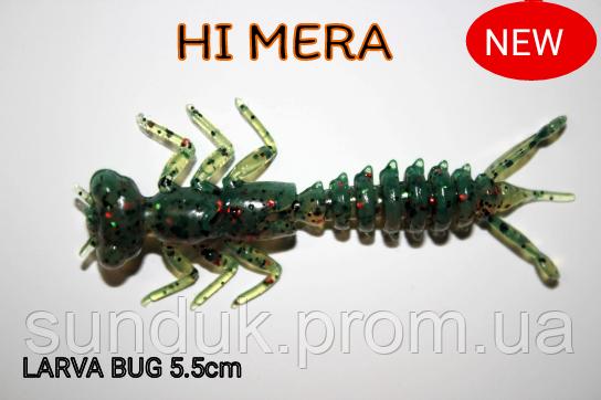 Силиконовая приманка Larva Bug 5.5 см col.24
