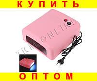 УФ Лампа для ногтей 36Вт таймер 120сек 4 лампочки D1001