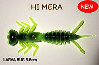 Силиконовая приманка Larva Bug 5.5 см col.New Exlysive