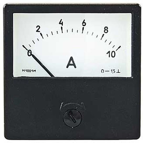 Амперметр М1001 0,5-0-0,5кА