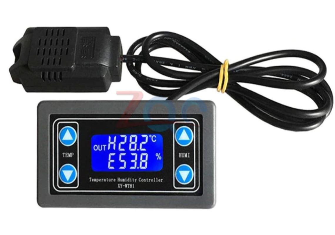 Регулятор температуры и влажности. DC 6 В-30 В