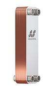 "Паяний пластинчастий теплообмінник SECESPOL LA 22-20-3/4"" (20-40 кВт)"