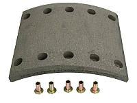 Тормозные накладки BPW, FRUEHAUF, SAF, KASSBOHRER [422x180mm] (1 рем),