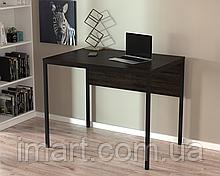 Письменный стол Loft design L-2p mini Венге Корсика. Комп'ютерний стіл для дому та офісу
